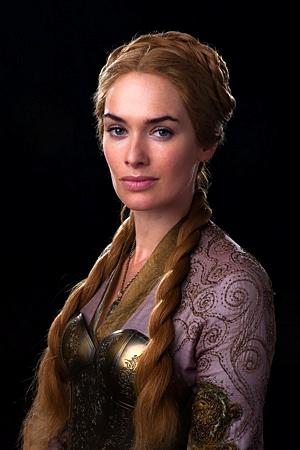 Game Of Thrones Season 2 Production Still: Cersei