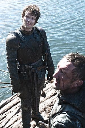 Theon Greyjoy & Dagmer Cleftjaw
