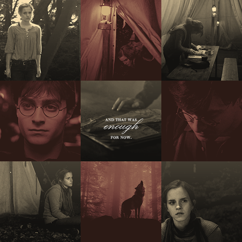 Harry and Hermione wallpaper with a tepee titled HHr