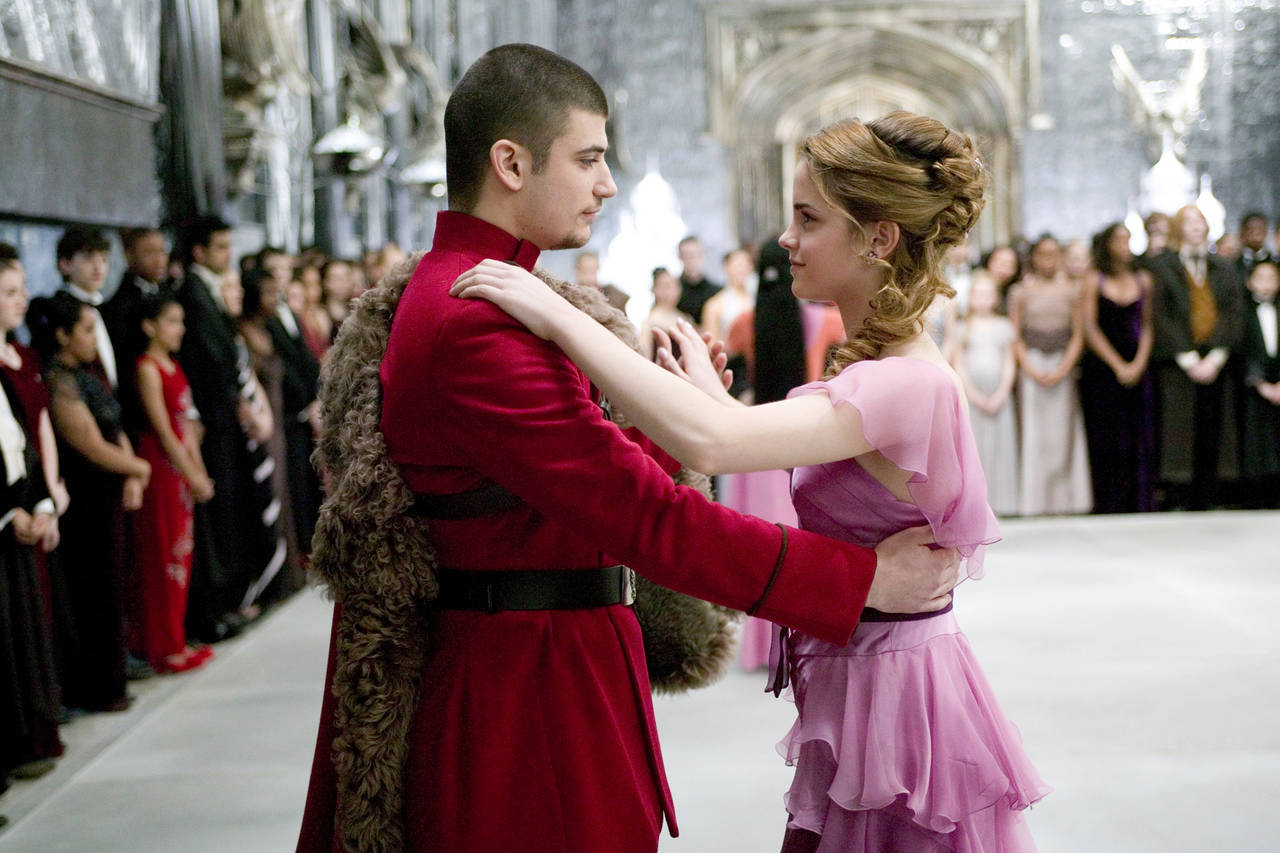 Yule Ball images Hermione and Krum HD wallpaper and ...