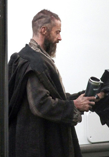 Hugh Jackman On the Set (20th March)