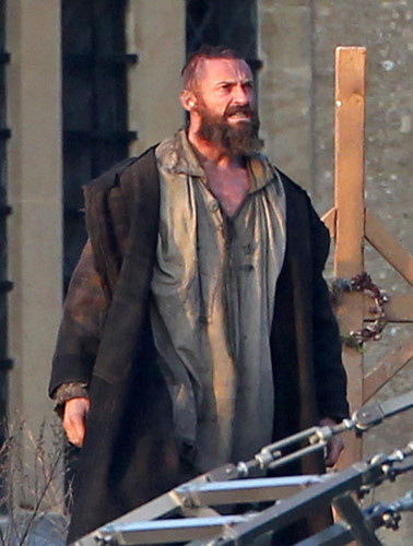 Hugh Jackman On the Set (21th March)