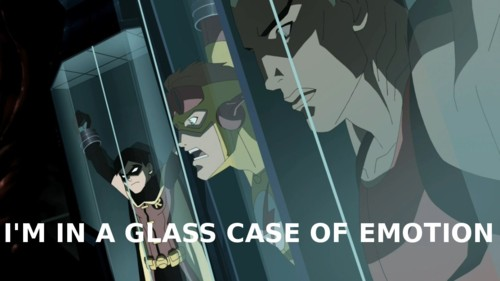 I'M IN A GLASS CAGE OF EMOTION