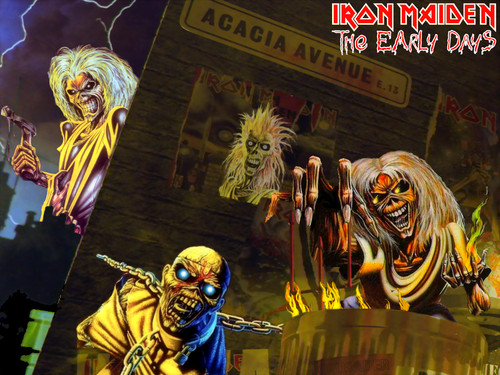 Iron Maiden hình nền with anime called Iron Maiden