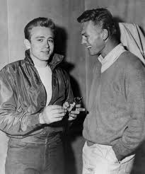 James Dean wallpaper called James with Tab Hunter