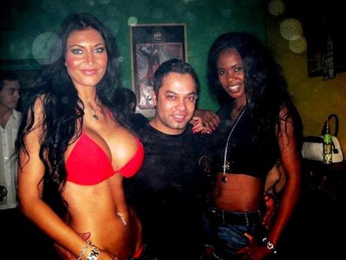 Jarda Parci and girls..