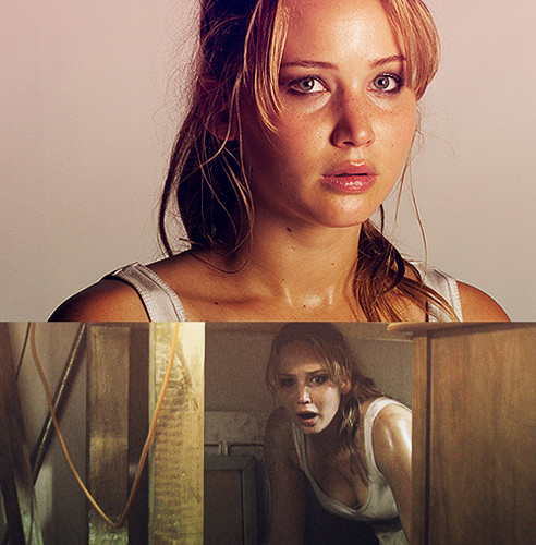 """Jennifer Lawrence as Elissa in """"House at the end of the street"""" ~ Promotional stills"""