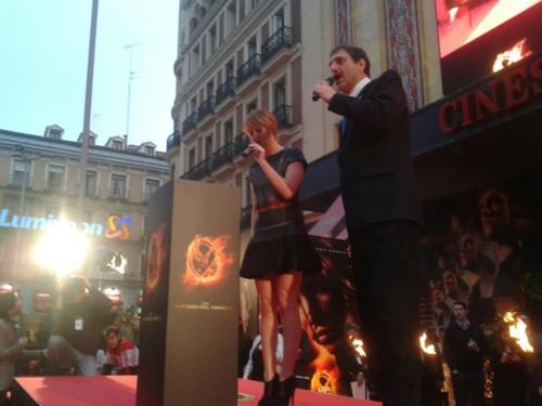 Jennifer in Madrid 26th March