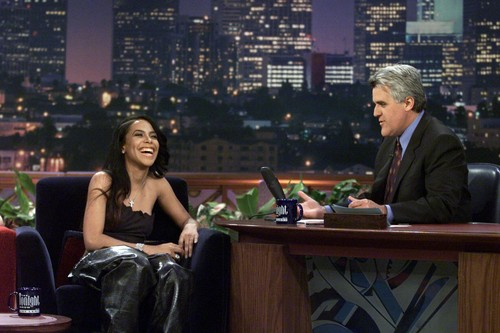 Just-Aaliyah.Net Exclusive! HQ Aaliyah performs 'Try Again' on geai, jay Leno's montrer