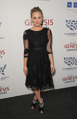 Kaley Cuoco @the 26th Annual Genesis Awards - kaley-cuoco Photo