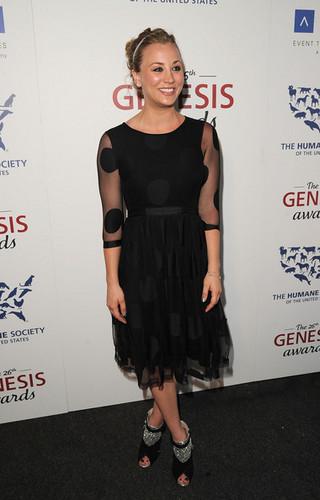 Kaley Cuoco @the 26th Annual Genesis Awards