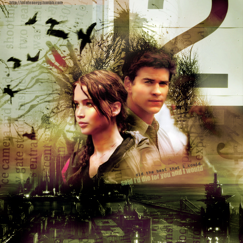 The Hunger Games wallpaper titled Katniss & Gale