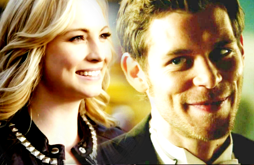 The Vampire Diaries TV ipakita wolpeyper containing a business suit and a portrait called Klaroline