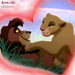Kovu and Kiara Lion King Love - lion-king-couples icon
