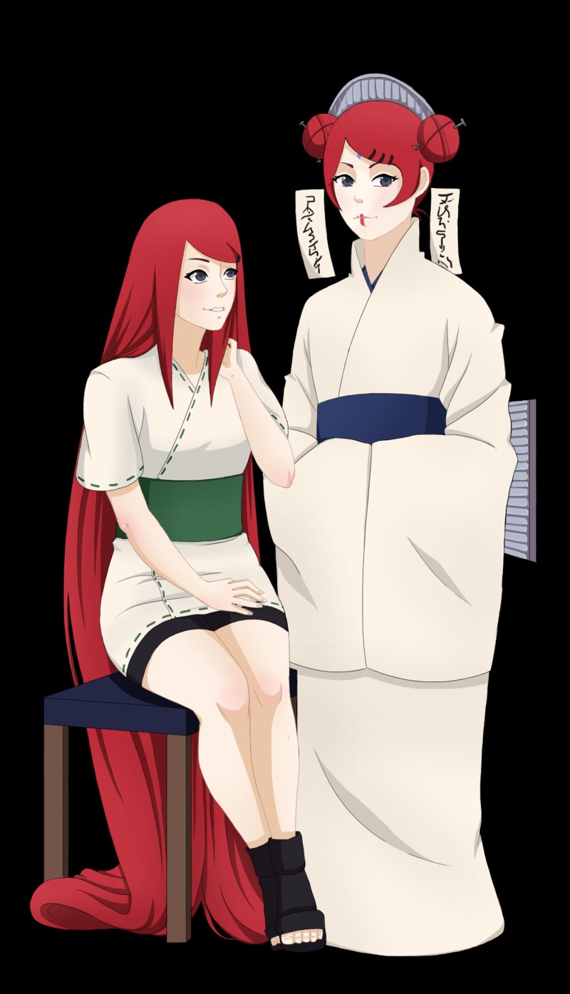 Kushina and Mito