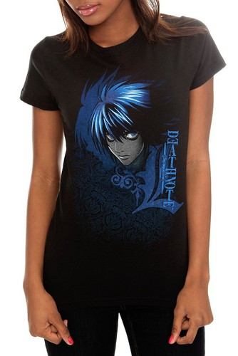 L T-shirt - death-note Photo