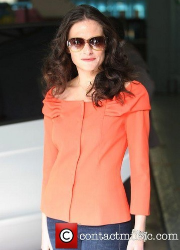 Lara Leaving ITV Studios - London