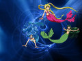 mermaids-heaven - Luchia, Hanon and Rina wallpaper