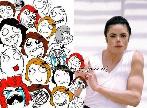 MJ's fangirls...