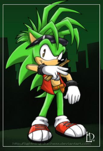 Manic the Hedgehog