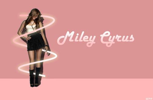 Miley Cyrus 팬 art