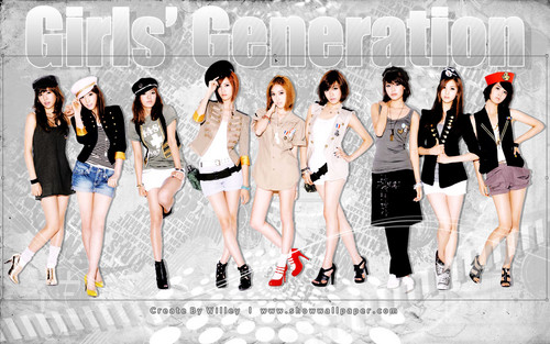 My favoriete K-POP Girls Generation (SNSD)