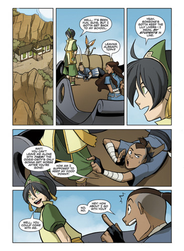 "New pages from ""The Promise Part 2"" - avatar-the-last-airbender Photo"