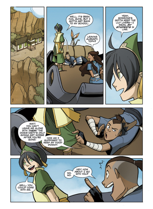 """New pages from """"The Promise Part 2"""""""