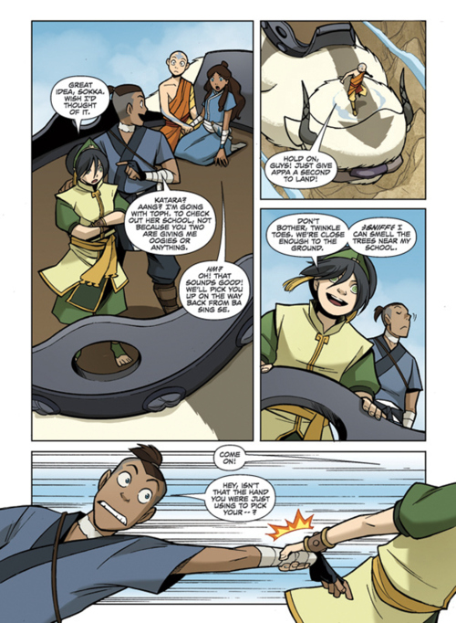 "New pages from ""The Promise Part 2"" - Avatar: The Last"