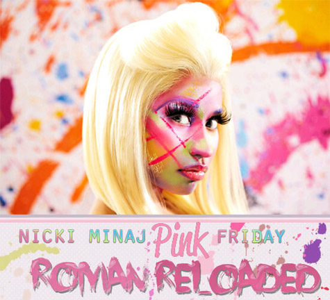 Nicki Minaj - Roman Reloaded Album Artwork - nicki-minaj Photo