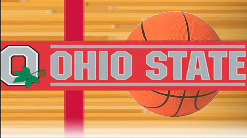 OHIO STATE bola basket ON A COURT