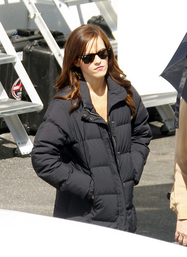 On the Set of The Bling Ring - March 27, 2012 - HQ