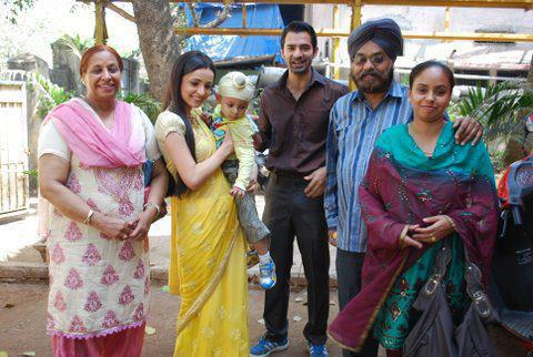 On the set of Iss pyar ko kya naam doon
