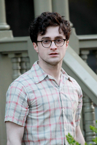 Daniel Radcliffe wallpaper called On the set of «Kill Your Darlings» - March 26, 2012 - HQ