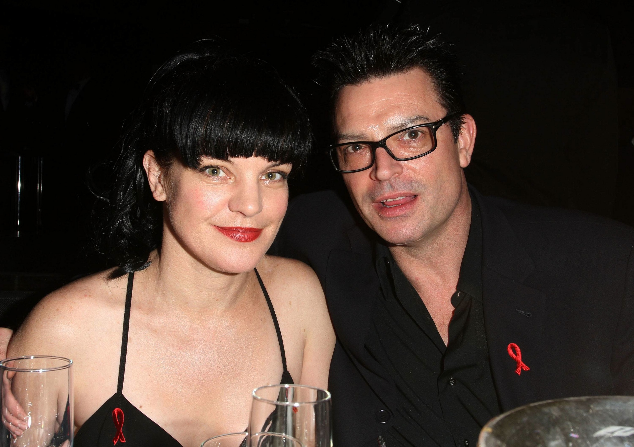 Pauley Perrette arrives at APLA's 'The Envelope Please' Oscar viewing party at The Abbey