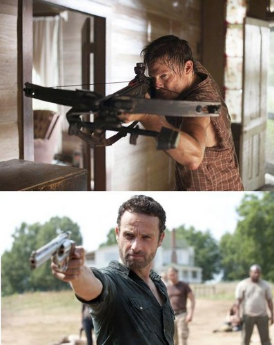 Daryl and Rick ღ