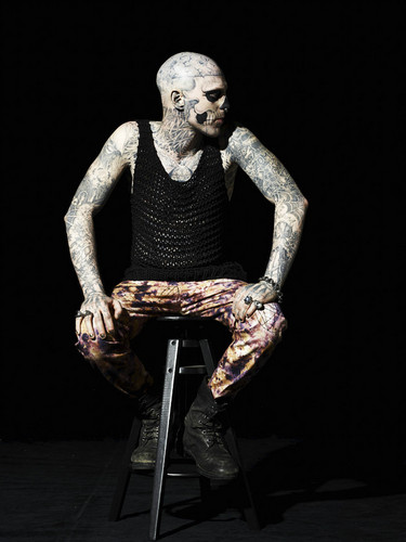 Rick Genest images Rick Genest GQ Italia photoshoot HD ...