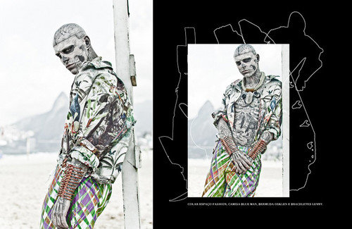 Rick Genest 의해 Zee Nunes for FFW Magazine