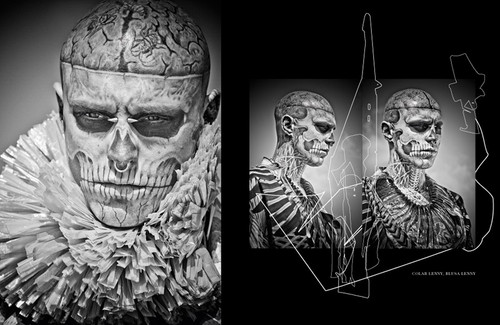 Rick Genest سے طرف کی Zee Nunes for FFW Magazine