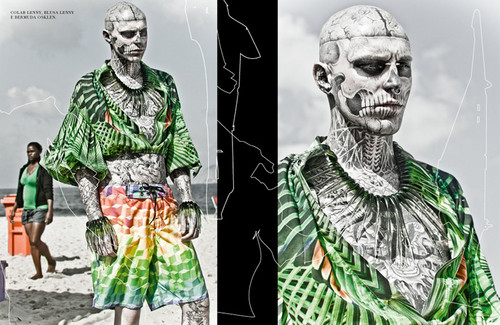 Rick Genest দ্বারা Zee Nunes for FFW Magazine
