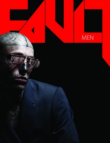 Rico the Zombie on the cover of Fault Men magazine