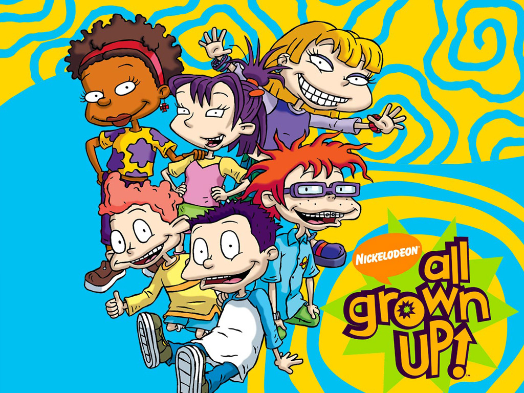Rugrats All Grown Up Characters