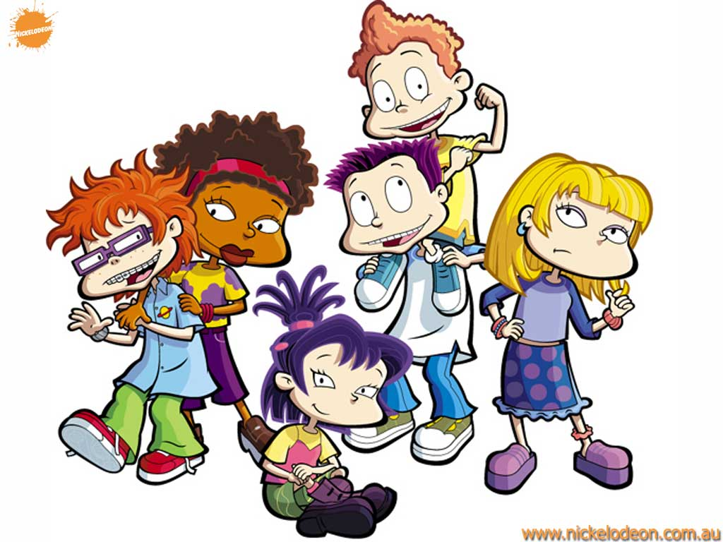 Rugrats All Grown Up Fond D écran Containing Animé Enled