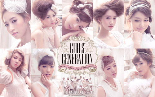 SNSD Japan First Album Wallpaper - girls-generation-snsd Wallpaper