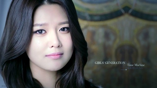 SNSD Sooyoung Time Machine Wallpaper