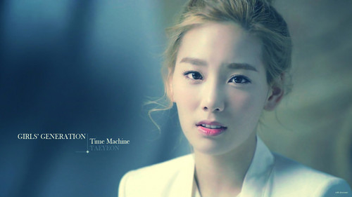 SNSD Taeyeon Time Machine Wallpaper