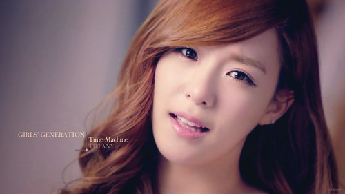 SNSD Tiffany Time Machine hình nền