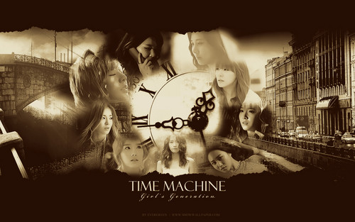 SNSD wolpeyper Time Machine