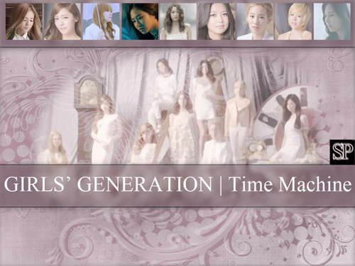 SNSD fondo de pantalla Time Machine