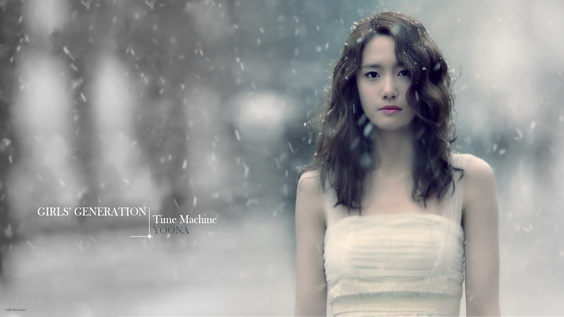 SNSD YoonA Time Machine wallpaper